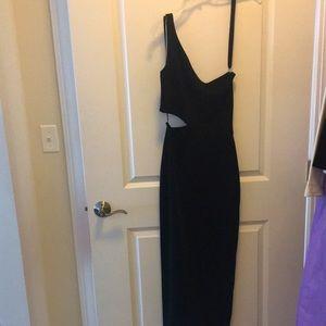 HUGO BUSCATI  black vintage dress size 4